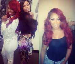 shades of k michelle 3 best hairstyles from the u0027love u0026 hip hop