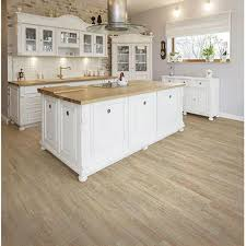 white kitchen cabinets with vinyl plank flooring dixie home drop lock white oak 7 x 48 luxury vinyl plank nfm