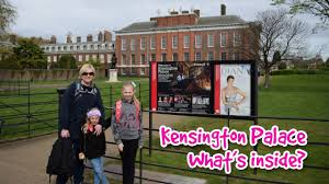 kensington palace tour with princess diana exhibition video here