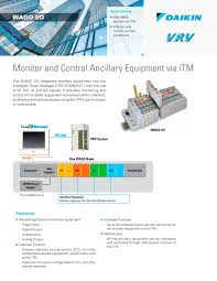 wago i o monitor and control ancillary equipment via itm