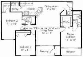 boynton beach apartment rental bb175 3 bedroom floor plans