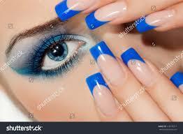 young woman beautiful nails stock photo 118779217 shutterstock