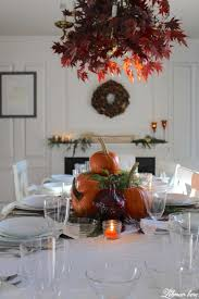 colorful thanksgiving table setting create