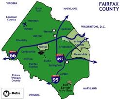 fairfax county map fairfax county house property search va estate map of