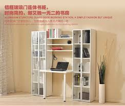 desk with bookcase combo multiple finishes home design ideas hong