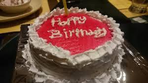 the birthday cake birthday cake picture of barbeque nation pune tripadvisor