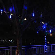 multi color led meteor shower lights kit 8pcs multi