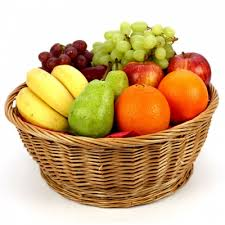 basket of fruit fruit basket designs je flowers