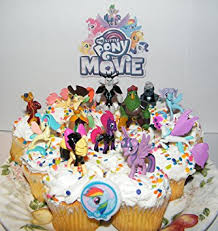 my pony cake ideas my pony the deluxe mini cake toppers