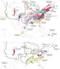 United States Tribal Nations Of by The Genetics Of The American Nations By Jayman The Unz Review