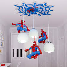 Boys Bedroom Lighting New Children S House Spider Light Led Bulb With Bedroom Boys