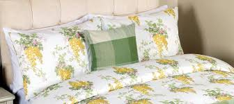 laura ashley wisteria king size duvet cover bedset camomile