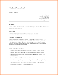 relevant skills resume cna chronological resume template with