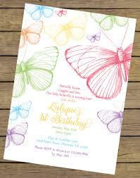 butterfly invitations rainbow butterfly birthday invitation butterfly birthday invite