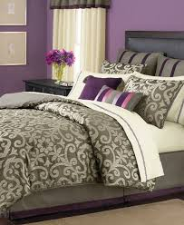 24 Piece Comforter Set Queen Martha Stewart Brownstone Damask 24 Piece Queen Comforter Set
