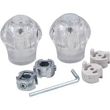 peerless kitchen faucet replacement parts peerless faucet replacement handles clear 2 pack walmart com