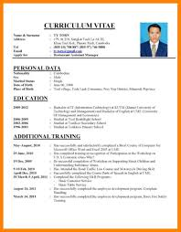 how to write a vitae resume how to write cv for new graduate