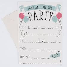 party invitations come and join the party invitations pack of 20 only 1 29