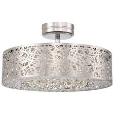 4 Light Semi Flush Ceiling Fixture by 4 Light Semi Flush Ceiling Fixture From The Jewel Box Collection