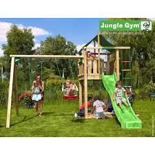 jeux en bois pour enfants portique balançoire aire de jeux leroy merlin
