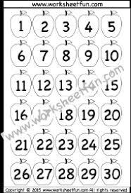 number chart 1 30 free printable worksheets u2013 worksheetfun