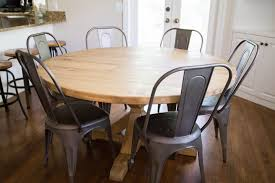 Dining Room Table Restoration Hardware by Do It Yourself Divas Diy Round Restoration Hardware Table And