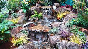 outdoor water features luxury residential landscape design