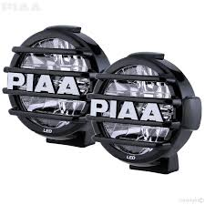 led driving lights automotive piaa piaa lp570 led white long range driving beam kit 05772