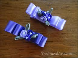 ribbon hair clip baby hair clippies bows ribbons hair bow july