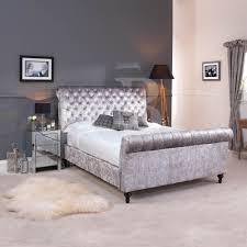 velvet sleigh bed design u2014 buylivebetter king bed ideas velvet