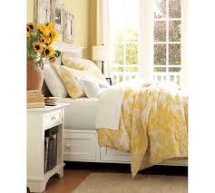 matine toile duvet cover u0026 sham marigold yellow pottery barn