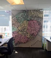 Map Room Boston by Wall Murals Wall Graphics By Lexington Signs U0026 Graphics In Boston