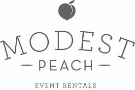 modest peach specialty rentals