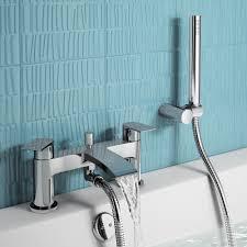 Bathroom Taps With Shower Attachment Nelas Bath Shower Mixer Tap With Held Shower Bath Tap