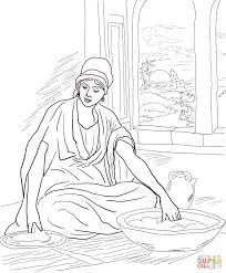parable of the leaven yeast coloring page free printable