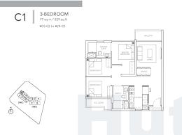 Bugis Junction Floor Plan by Sturdee Residences Showflat Viewing 6100 8160 Starbuy Prices