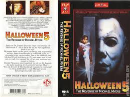 the horrors of halloween halloween 5 the revenge of michael
