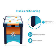 harvil 5 foot air hockey table with electronic scoring harvil 5 foot air hockey table with electronic scorer