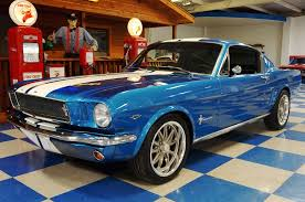 blue mustang 1965 ford mustang fastback 2 2 metallic blue white a e