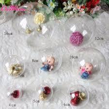 20pcs acrylic transparent clear plastic for wedding
