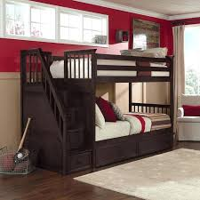 bunk beds with stairs loft bunk beds with stairs bedrooms twin