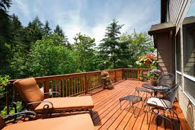 Deck In The Backyard What U0027s The Difference Between A Patio And A Deck