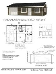 Garage Apartment Plan Best 25 Garage Plans With Apartment Ideas On Pinterest Garage