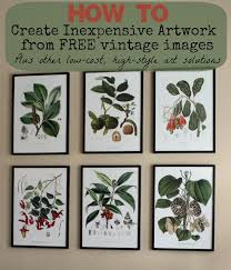 botanical calendars where to find inexpensive antique botanical prints