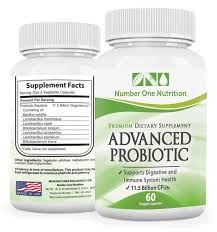 Number One Amazon Com Number One Nutrition Probiotic Supplement 11 5