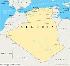 algeria map algeria travel guide and country information
