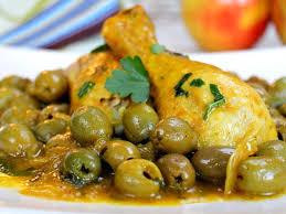 cuisine marocaine poulet aux olives tajine de poulet aux olives au thermomix cookomix