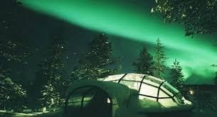 finland northern lights hotel igloo village at hotel kakslauttanen findland cozy northern lights