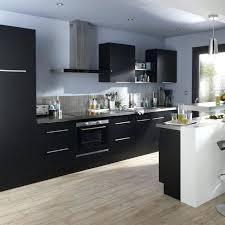meuble de cuisine noir cuisine noir mat fabulous meuble cuisine noir cooke lewis
