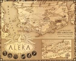 Map O This Is The A Map Of Carna In Which Jim Butcher U0027s Codex Alera